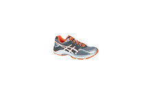 Asics Men's Gel Foundation 11 2E grey/pearl white/orange